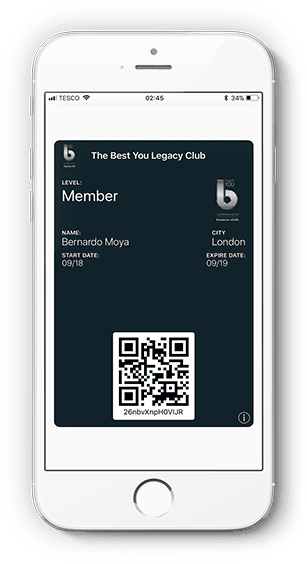 TBY Legacy Club - Wallet Member Ccard