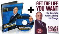 PACK 6 - SPECIAL OFFER - Get The Life You Want Book and An Intro to NLP DVD